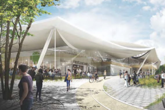 Google revealed plans for a new campus building